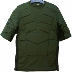 Paintball Chest Protection Black Eagle Corporation Green S/M