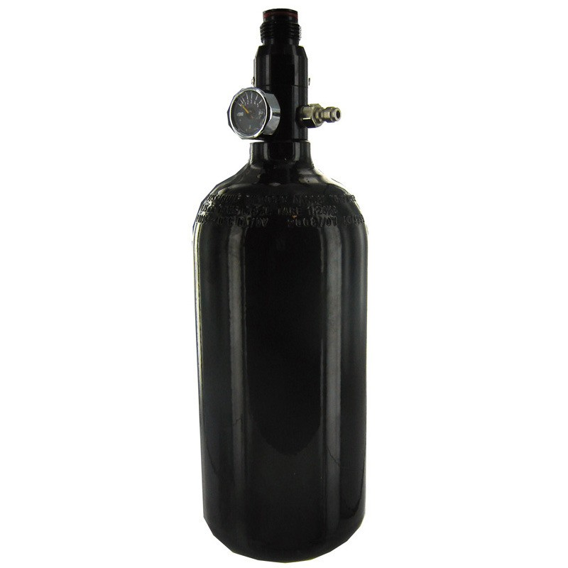 Bouteille air 0,8 Litre Reg 3000 Psi Pi Noire Basse pression