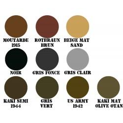 Peinture militaria 400ml US ARMY 1/2 mat od 1942