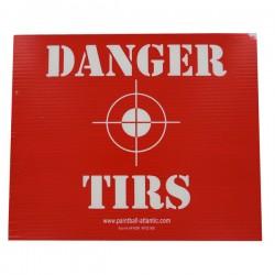 Panneau Danger Tirs