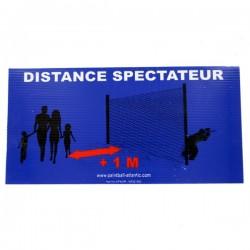 Panneau Distance spectateurs
