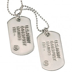 US ID- Dog Tag