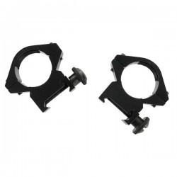 Jeu deux adaptateurs lunette 11 mm