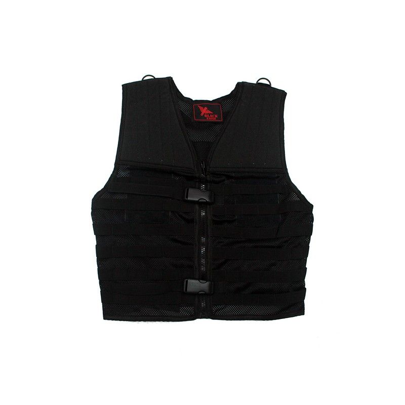 Il Gilet tattico airsoft Bravo Black Eagle Corporation Nero