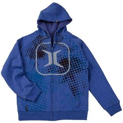 Invert Hoodie ZE Halftone Blue taille L