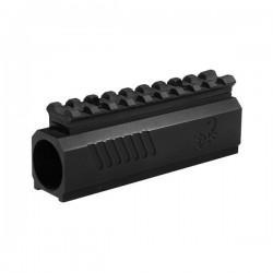 Lapco front black picatinny rail pour Tpx