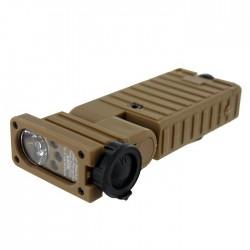Rèplique de lampe modèle flashlight type sidewinder