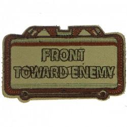 Patch écusson front toward Enemy