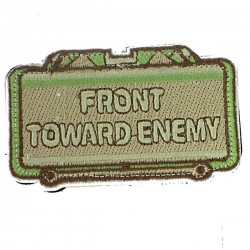 Patch écusson front toward Enemy Olive