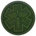 Patch pvc paramedic olive