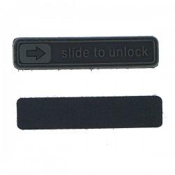 Patch pvc slide to unlock