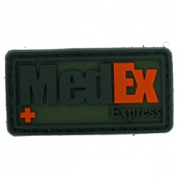 Patch PVC Medex olive