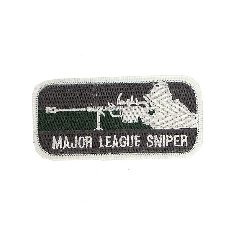 Patch major league sniper airsoft Olive