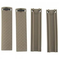 Rail Cover Tan X4