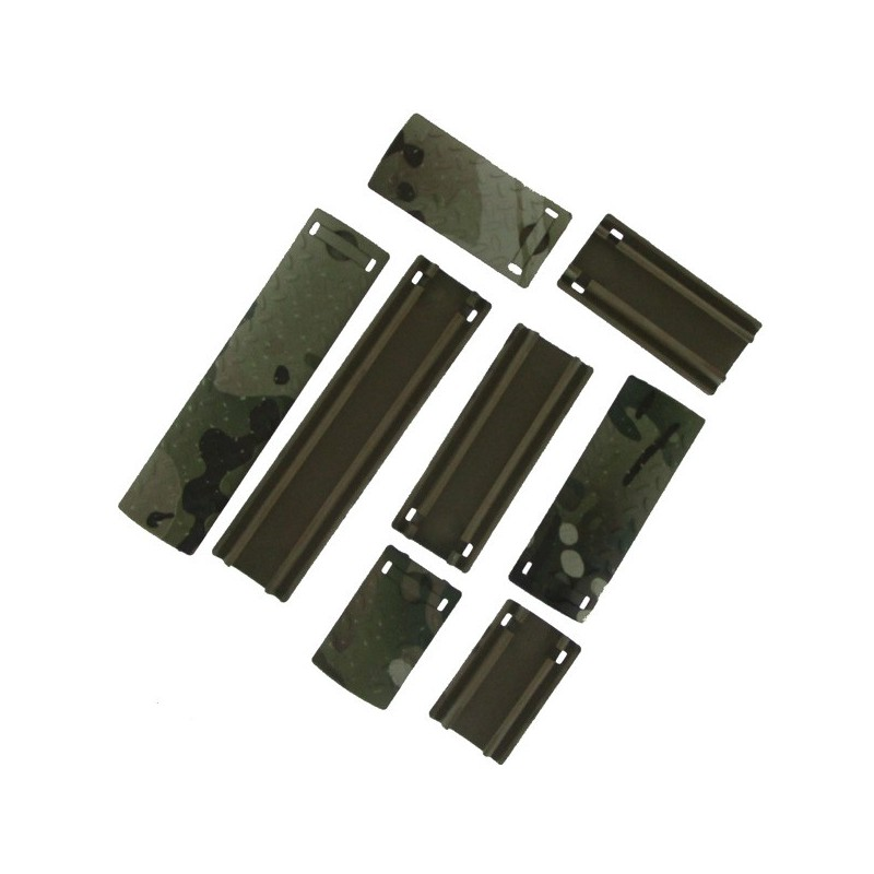 Rail Cover Multicam X8