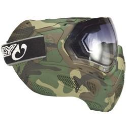 Masque paintball Sly Profit Full camo Woodland