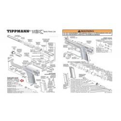 TA20051 Magazine Release Spring /TPX Pistol