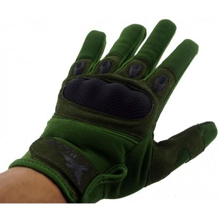 Gants Airsoft Mil Star Olive Gloves BE L