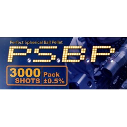 Sachet 3000 billes airsoft pas cher Perfect BB 0,25g