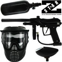 Pack lanceur paintball Z Star (air+masque+loader)