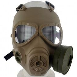 Masque à gaz airsoft paintball accessoire Sable