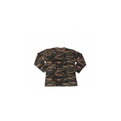 Camo US Shirt Langarm Xl
