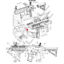 21 BOLT GUIDE DE RETENTION DE VIS TM15 ref 17659