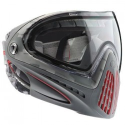 Paintball Maske DYE I4 Airstrike Red