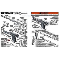TA20096 Line O'rings TPX Pistol TA20050