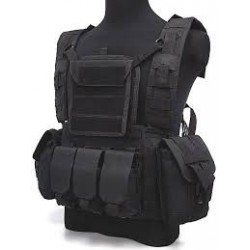 TACTICAL VESTS Stealh Black Eagle Corporation Black