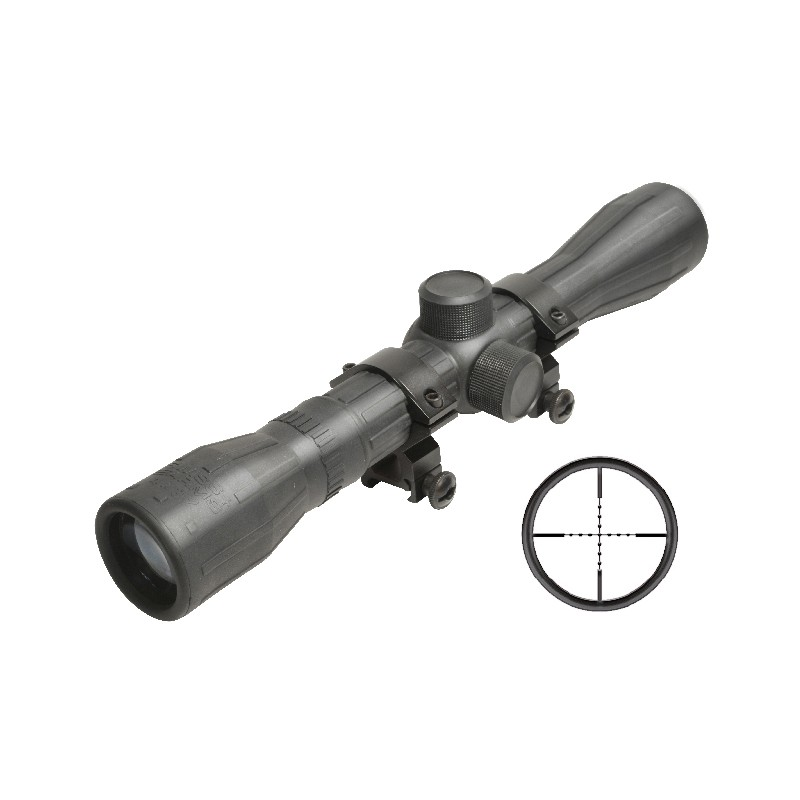 Scope 4x32 Rubber Coated Swiss Arms