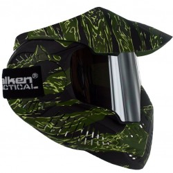 Masque paintball thermal Tiger avec verre mirroir