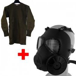 Masque a gaz + maillot GI