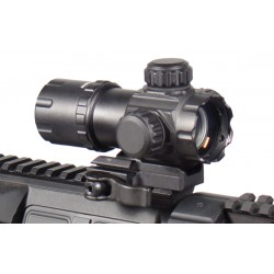 "3.9"" ITA Red / Green Dot Sight with 2 QD Mounts Black Eagle Corporation"