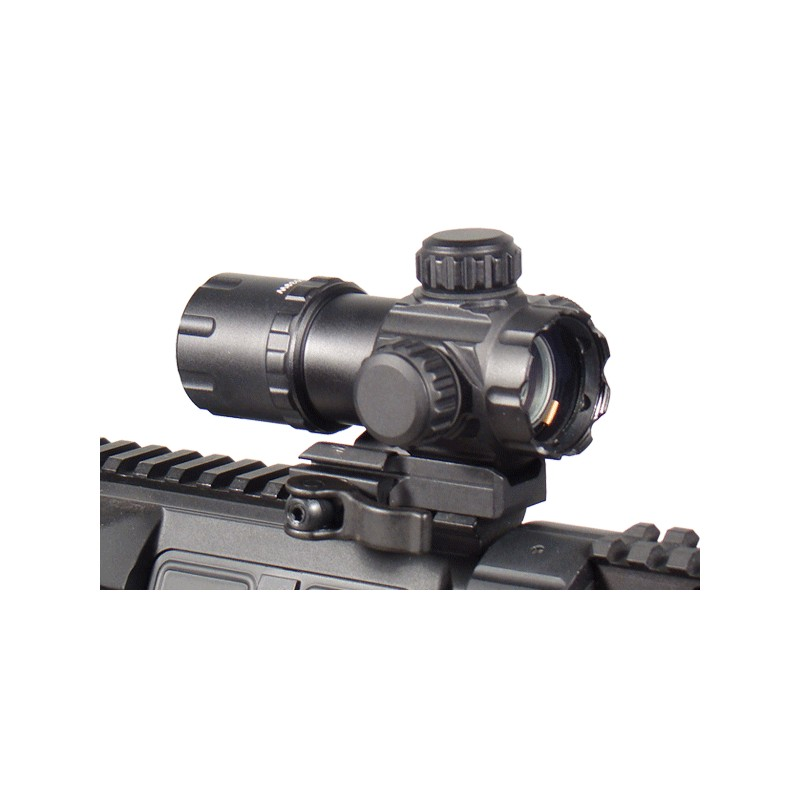 3.9 ITA Red Green Dot Sight with 2 QD Mounts Black Eagle Corporation