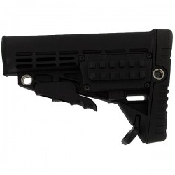 CAA folding stock Black