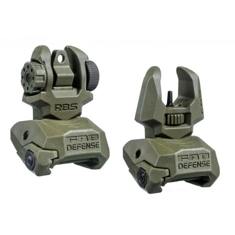 FAB Rear sight set (OD)