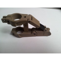 ARMS 41b Flip-Up Front Sight for M4 / M4AI - Coyote Tan
