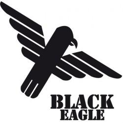 Plastron Black Eagle noir S/M