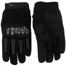 Guanti Airsoft Mil Star Nero Gloves BE L