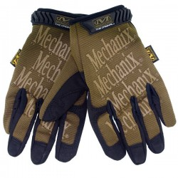 Airsoft Full Finger Tactical Safety Gloves DE L