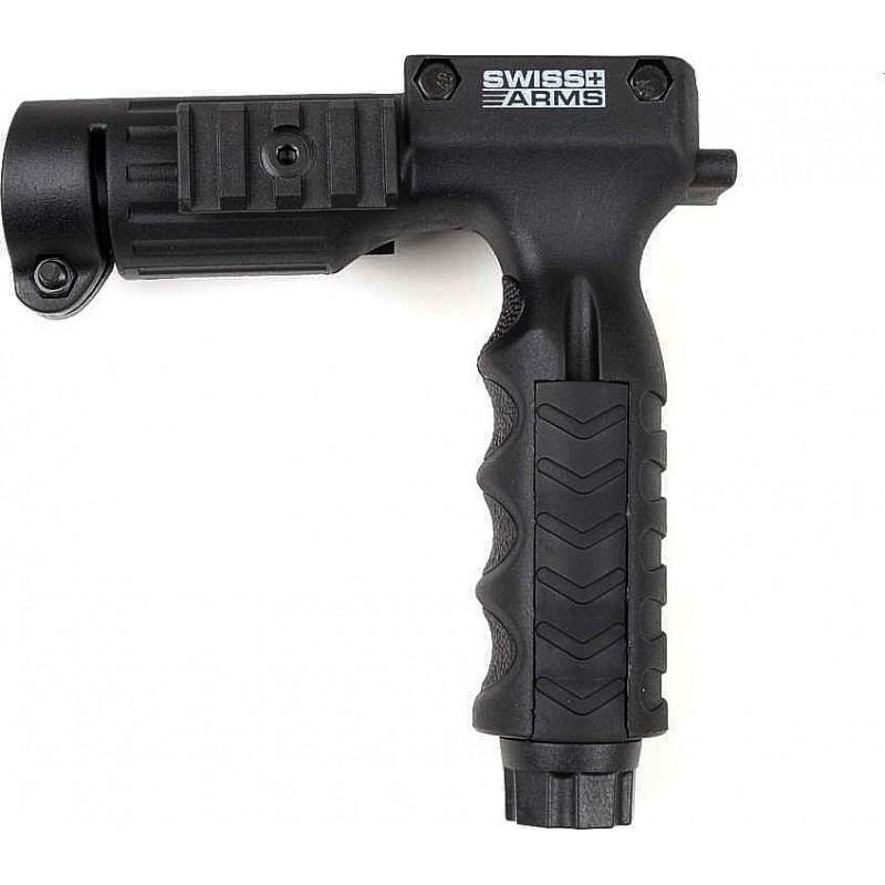 Poignee SWISS ARMS verticale porte lampe (25,4 mm ) avec interupteur