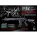 Colt M4A1 metal AEG garde main long Keymod 300BB's