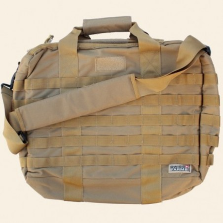 Sacoche SWISS ARMS Tactique Tan pour Ordinateur portable 17''