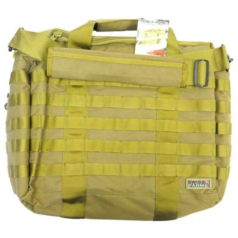 Sacoche SWISS ARMS Tactique Tan pour Ordinateur Portable 15''