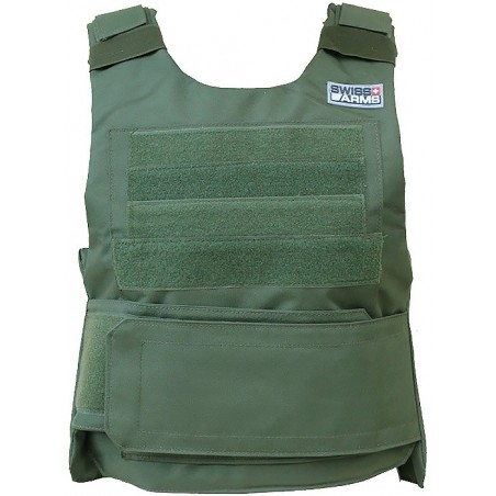 Gilet SWISS ARMS leger OD Green