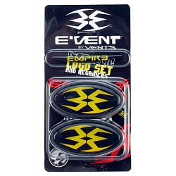 Empire Vents Logo Set and Retainer YELLOW