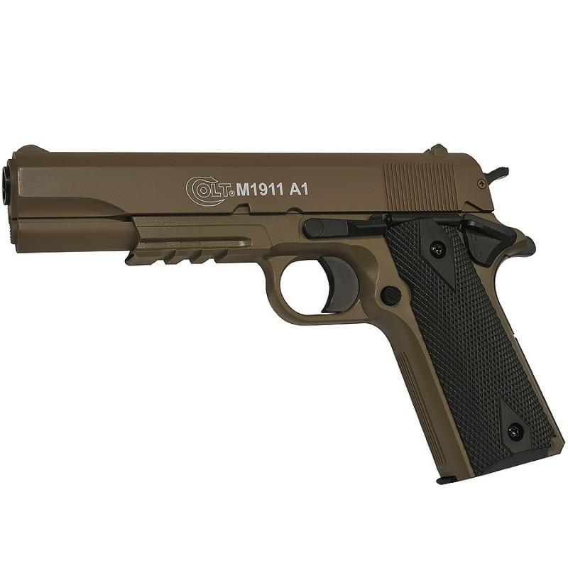 Colt 1911 Culasse Metal Manuel Dark Earth 13BB