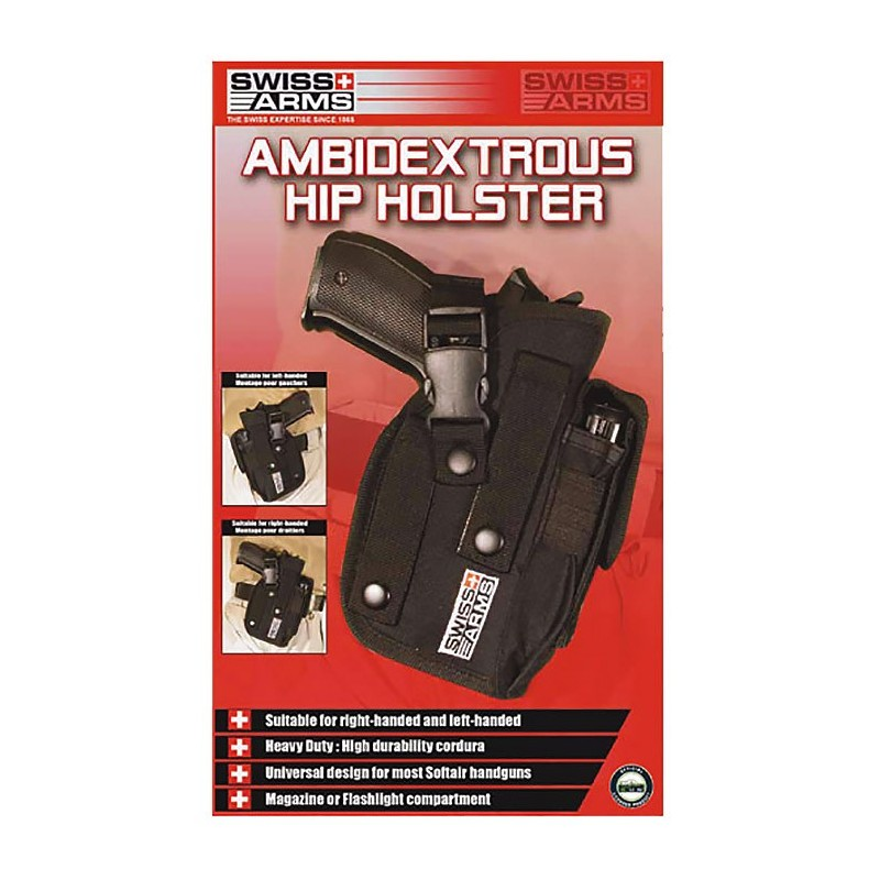 Holster SWISS ARMS de ceinture ambidextre