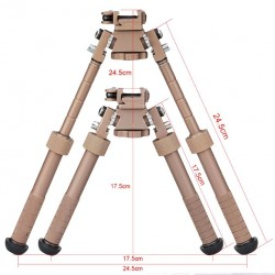 BT10-LW17-Atlas Bipod Tan